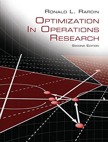Optimization in Operations Research: Rardin, Ronald L.