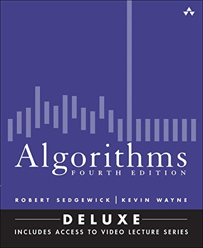 9780134384689: Algorithms, Fourth Edition (Deluxe): Book and 24-Part Lecture Series
