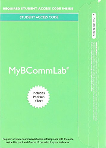 9780134390116: MyLab Business Communication with Pearson eText -- Access Card -- for Excellence in Business Communication