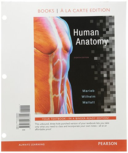 9780134394404 Human Anatomy Books A La Carte Plus Mastering Ap