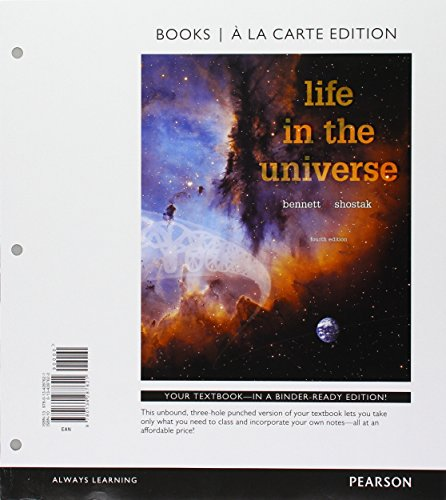 9780134394411: Life in the Universe, Books a la Carte Plus Mastering Astronomy with Pearson eText -- Access Card Package (4th Edition)