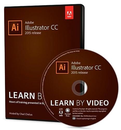 9780134396385: Adobe Illustrator CC Learn by Video (2015 release)
