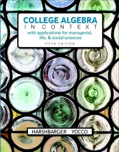 9780134397023: College Algebra in Context plus MyLab Math with Pearson eText -- Access Card Package (5th Edition)