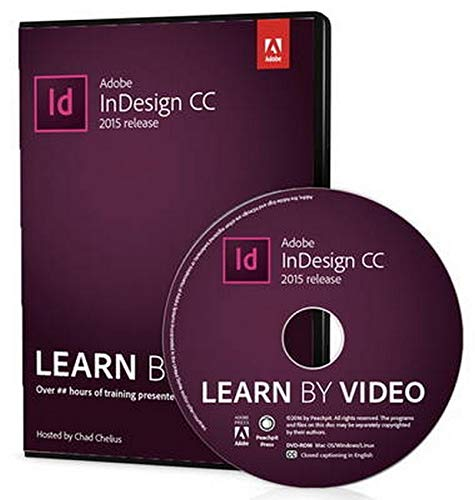 9780134397825: Adobe InDesign CC Learn by Video 2015