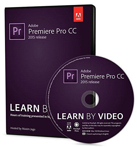 9780134397832: Adobe Premiere Pro CC Learn by Video (2015 release)