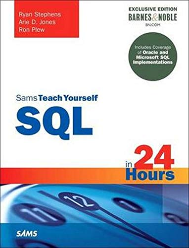 9780134398969: SQL in 24 Hours, Sams Teach Yourself: Barnes & Noble Special Edition