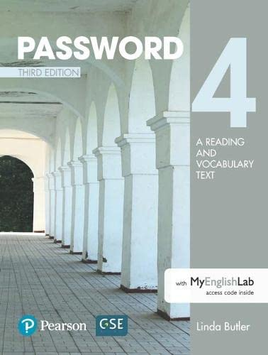 9780134399386: Password 4 with Essential Online Resources (3rd Edition)