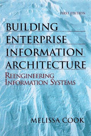 Building Enterprise Information Architectures: Reengineering Information Systems: Melissa Cook, Hewlett-Packard