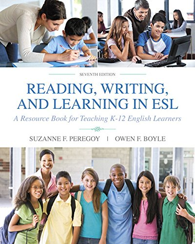 9780134403397: Reading, Writing and Learning in ESL: A Resource Book for Teaching K-12 English Learners with Enhanced Pearson eText -- Access Card Package (7th Edition) (What's New in Ell)