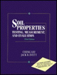 9780134404622: Soil Properties: Testing, Measurement, and Evaluation