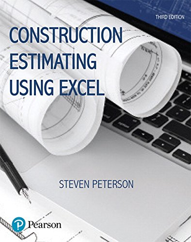 Construction Estimating Using Excel (3rd Edition) (What's New in Trades & Technology): ...
