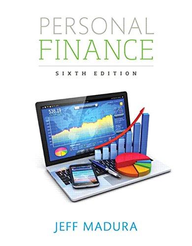 9780134408378: Personal Finance