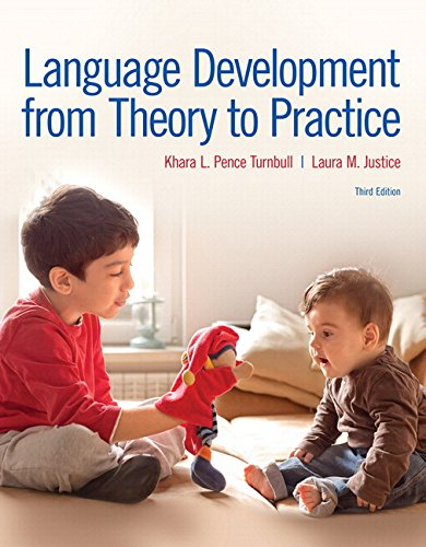 9780134412085: Language Development From Theory to Practice with Enhanced Pearson eText -- Access Card Package (3rd Edition) (What's New in Communication Sciences & Diaorders)