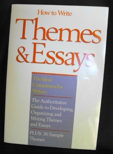 9780134416847: How to Write Themes Essays Maccall