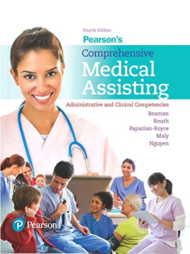 9780134420202: Pearson's Comprehensive Medical Assisting: Administrative and Clinical Competencies (4th Edition)