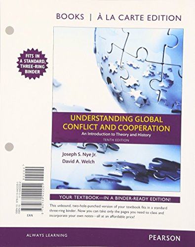 9780134422251: Understanding Global Conflict and Cooperation: An Introduction to Theory and History, Books a la Carte Edition (10th Edition)