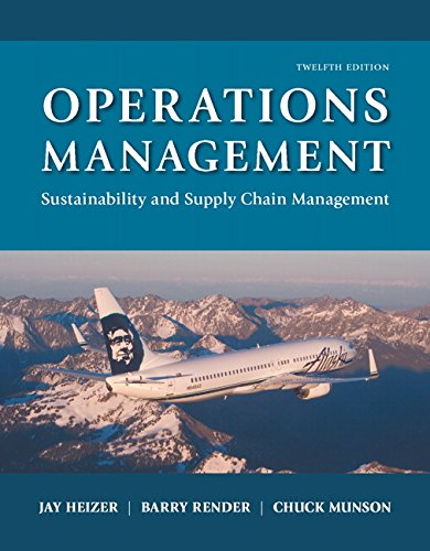 9780134422404: Operations Management: Sustainability and Supply Chain Management Plus MyOMLab with Pearson eText -- Access Card Package (12th Edition)