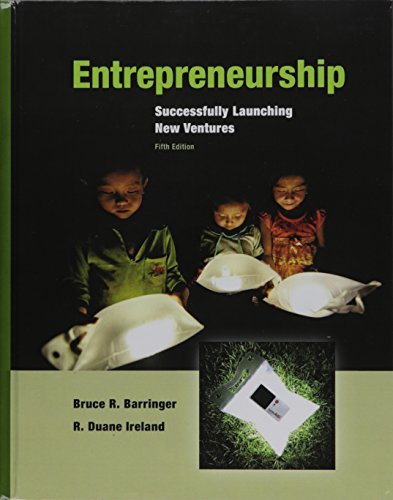 Entrepreneurship: Successfully Launching New Ventures Plus MyEntrepreneurshipLab with Pearson eText...