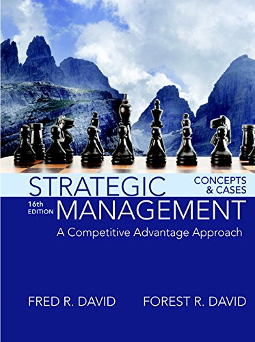 9780134422572: Strategic Management: A Competitive Advantage Approach, Concepts and Cases Plus MyLab Management with Pearson eText - Access Card Package (16th Edition)