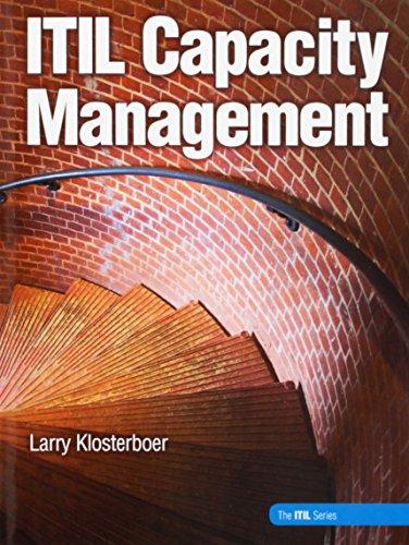 9780134425566: ITIL Capacity Management (paperback)