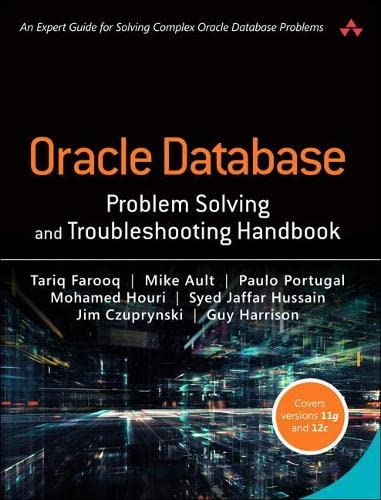 9780134429205: Oracle Database Problem Solving and Troubleshooting Handbook
