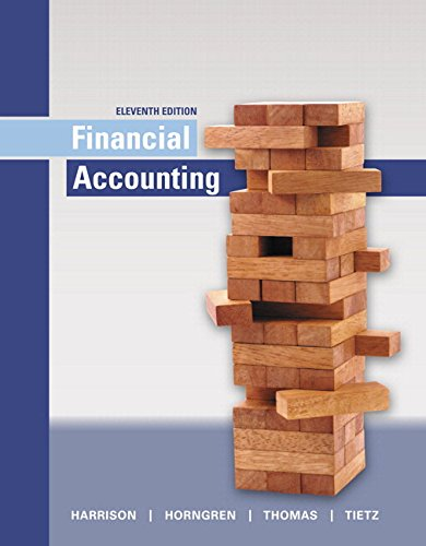 9780134436135: Financial Accounting Plus MyLab Accounting with Pearson eText -- Access Card Package (11th Edition)