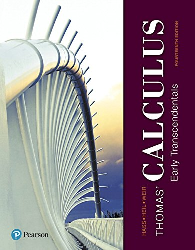 9780134439020: Thomas' Calculus: Early Transcendentals