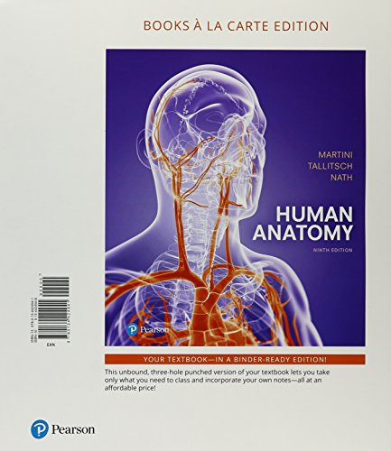 9780134439884: Human Anatomy, Books a la Carte Plus Mastering A&P ...
