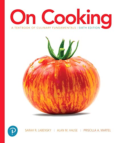 9780134441900: On Cooking: A Textbook of Culinary Fundamentals (6th Edition), Without Access Code (What's New in Culinary & Hospitality)