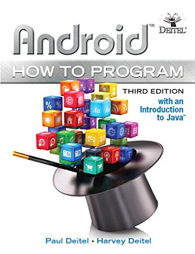 9780134444307: Android How to Program: With an Introduction to Java