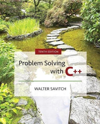 problem solving with c++ mycodemate