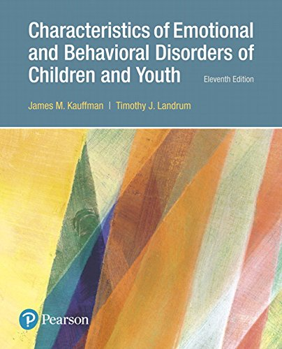 9780134449906: Characteristics of Emotional and Behavioral Disorders of Children and Youth (11th Edition)