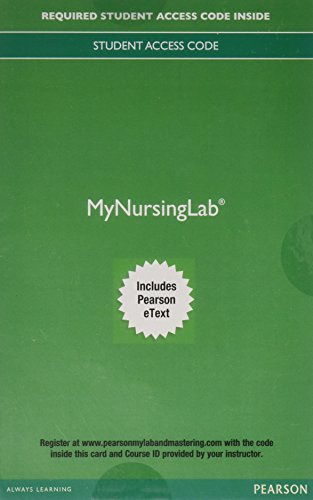 9780134452074: MyNursingLab with Pearson eText -- Access Card -- for Medical Dosage Calculations