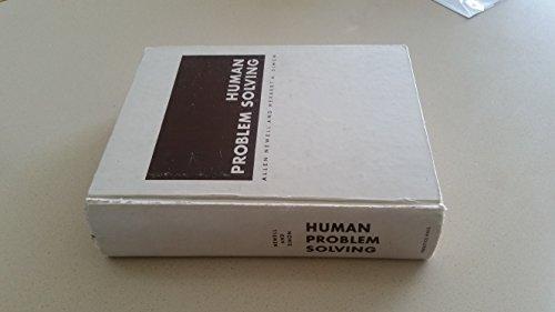 9780134454030: Human Problem Solving