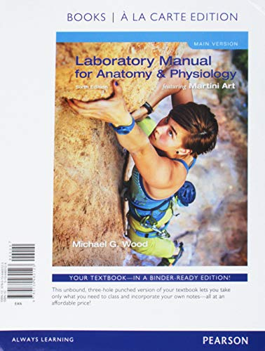 9780134460123: Laboratory Manual for Anatomy & Physiology Featuring ...