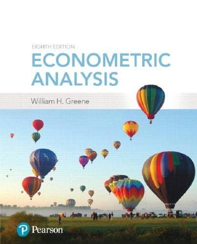 9780134461366: Econometric Analysis (8th Edition)