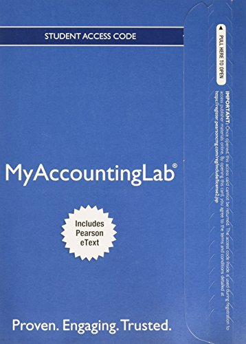 Download MyLab Accounting with Pearson eText -- Access Card -- for Horngren's Financial & Managerial Accounting, The Financial Chapters