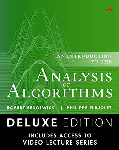 9780134464473: Analysis of Algorithms, Deluxe Edition: Book and 9-part Lecture Series
