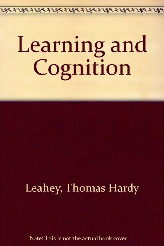 9780134465500: Learning and Cognition