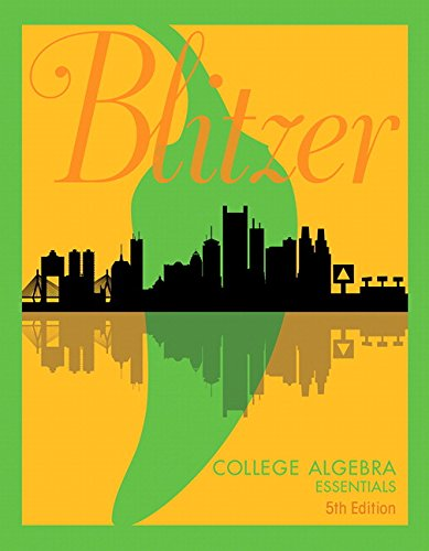 9780134469294: College Algebra Essentials (5th Edition)