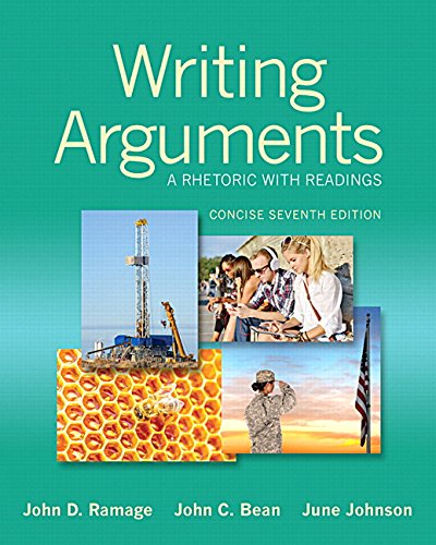 9780134469638: Writing Arguments: A Rhetoric with Readings, Concise Edition Plus MyWritingLab without eText -- Access Card Package (7th Edition)