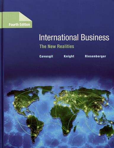 International Business: The New Realities Plus Mymanagementlab with Pearson Etext -- Access Card ...
