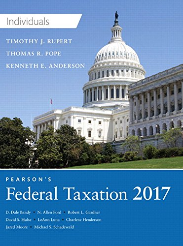 9780134473932: Pearson's Federal Taxation 2017 Individuals Plus MyLab Accounting with Pearson eText -- Access Card Package (30th Edition)