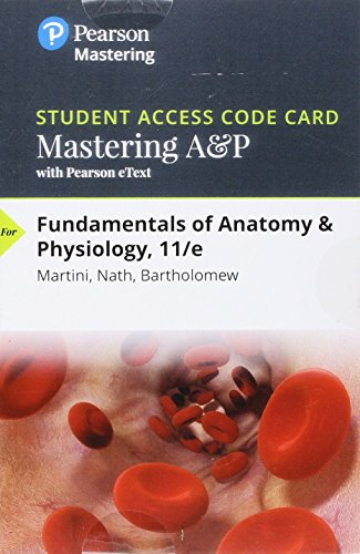 9780134478692: Mastering A&P with Pearson eText -- Standalone Access ...