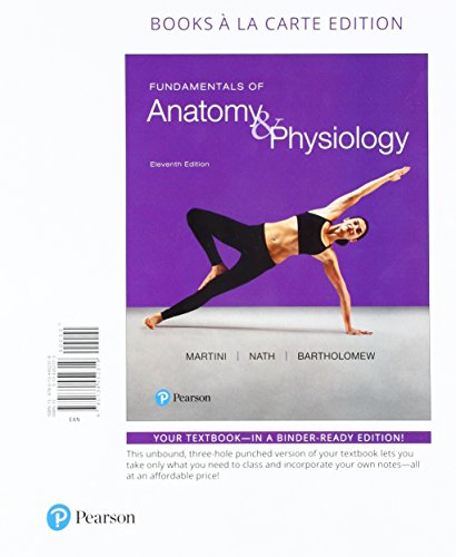 9780134478753 Fundamentals Of Anatomy Physiology Books A La