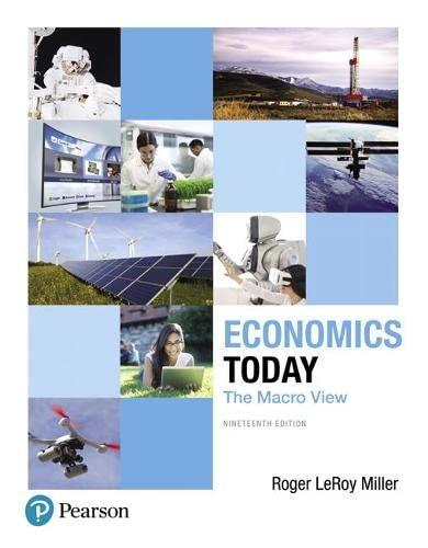 9780134478760: Economics Today: The Macro View (19th Edition) (Pearson Series in Economics)