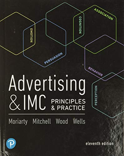 Advertising & IMC: Principles and Practice (11th: Moriarty, Sandra, Mitchell,