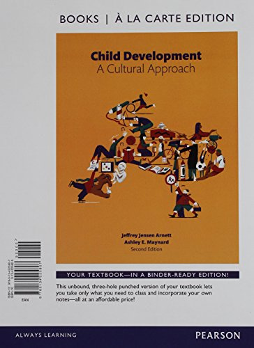 9780134481906: Child Development: A Cultural Approach, Books a la Carte Plus NEW MyLab Psychology -- Access Card Package (2nd Edition)