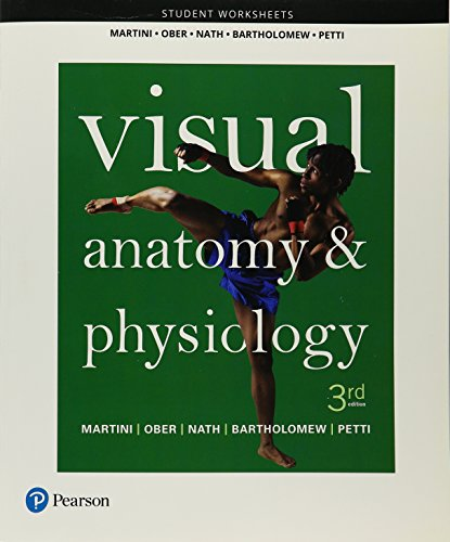 9780134486499: Student Worksheets for Visual Anatomy & Physiology