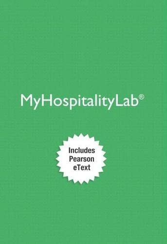 9780134487281: MyHospitalityLab with Pearson eText -- Access Card -- for Intro to Hospitality & Intro to Hospitality Management
